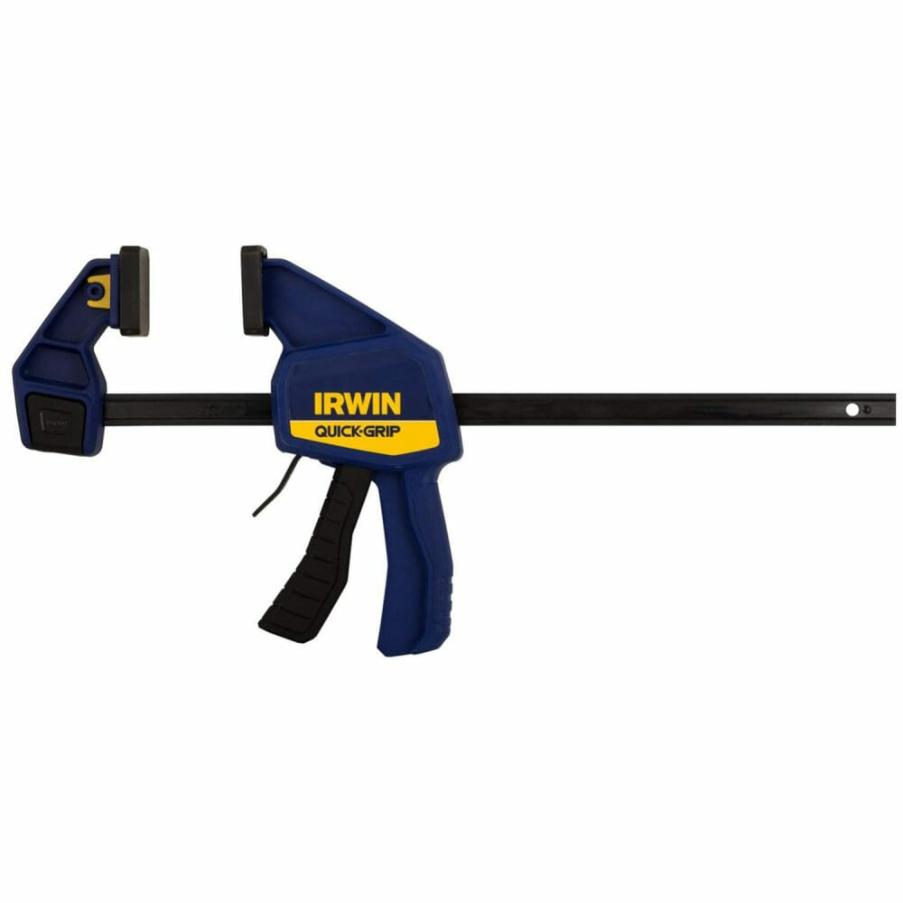 Best Photography clamp IRWIN QUICK-GRIP One-Handed Bar Clamp Medium Duty