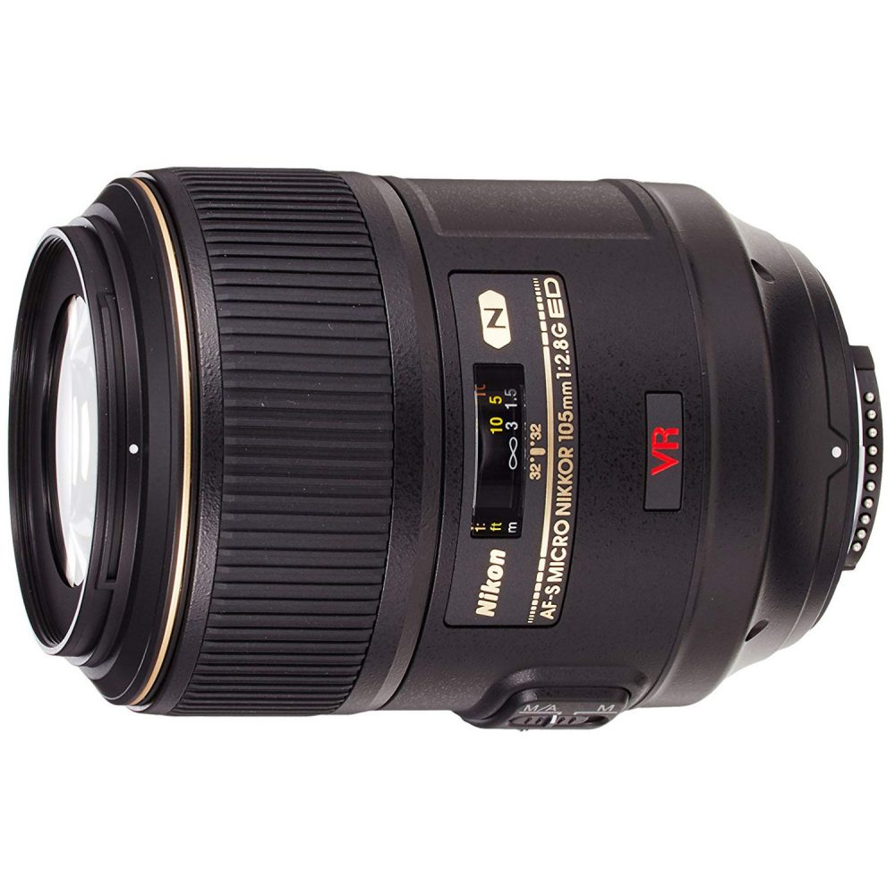 Best Lens for product photography Nikon 105 mm
