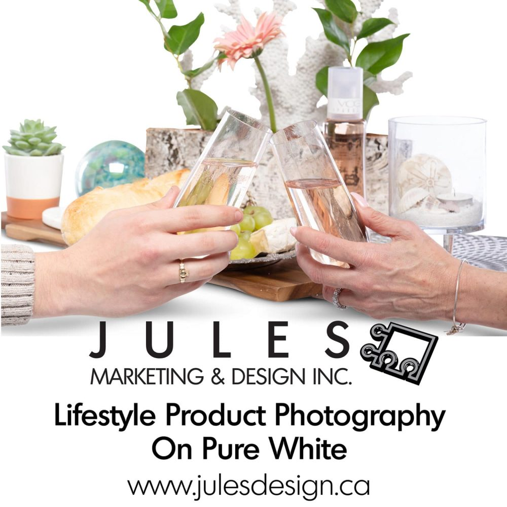 Lifestyle & Staged Product Photography on Pure White Toronto Photo Studio