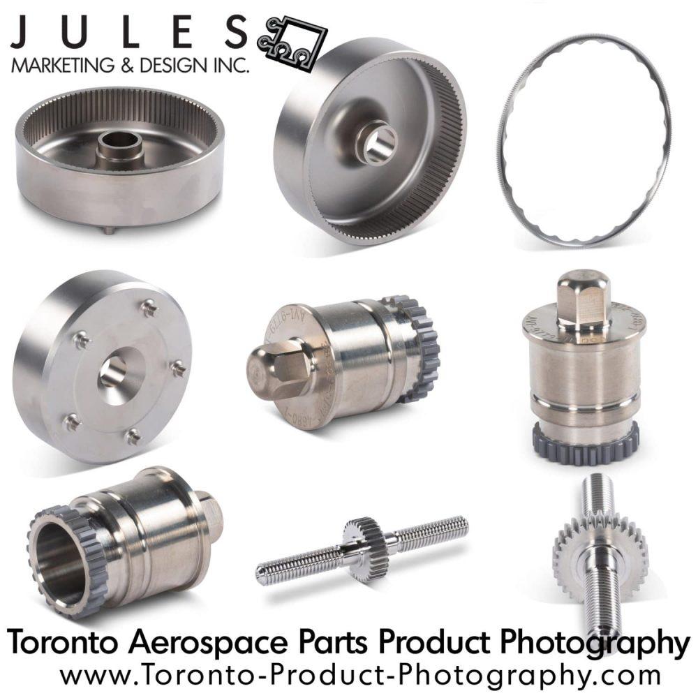 Toronto Aerospace Parts Product Photography