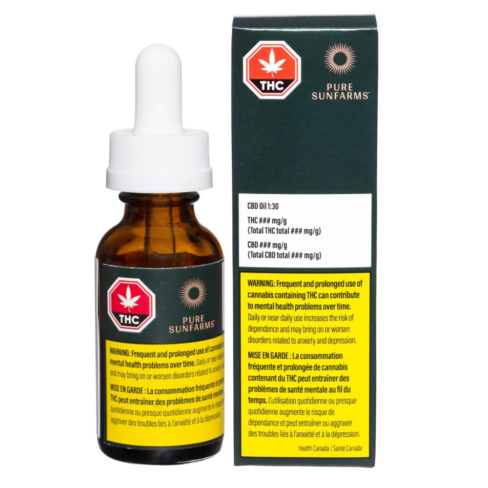 CBD Oil Canadian Marijuana Product Photography following GS1 Standards